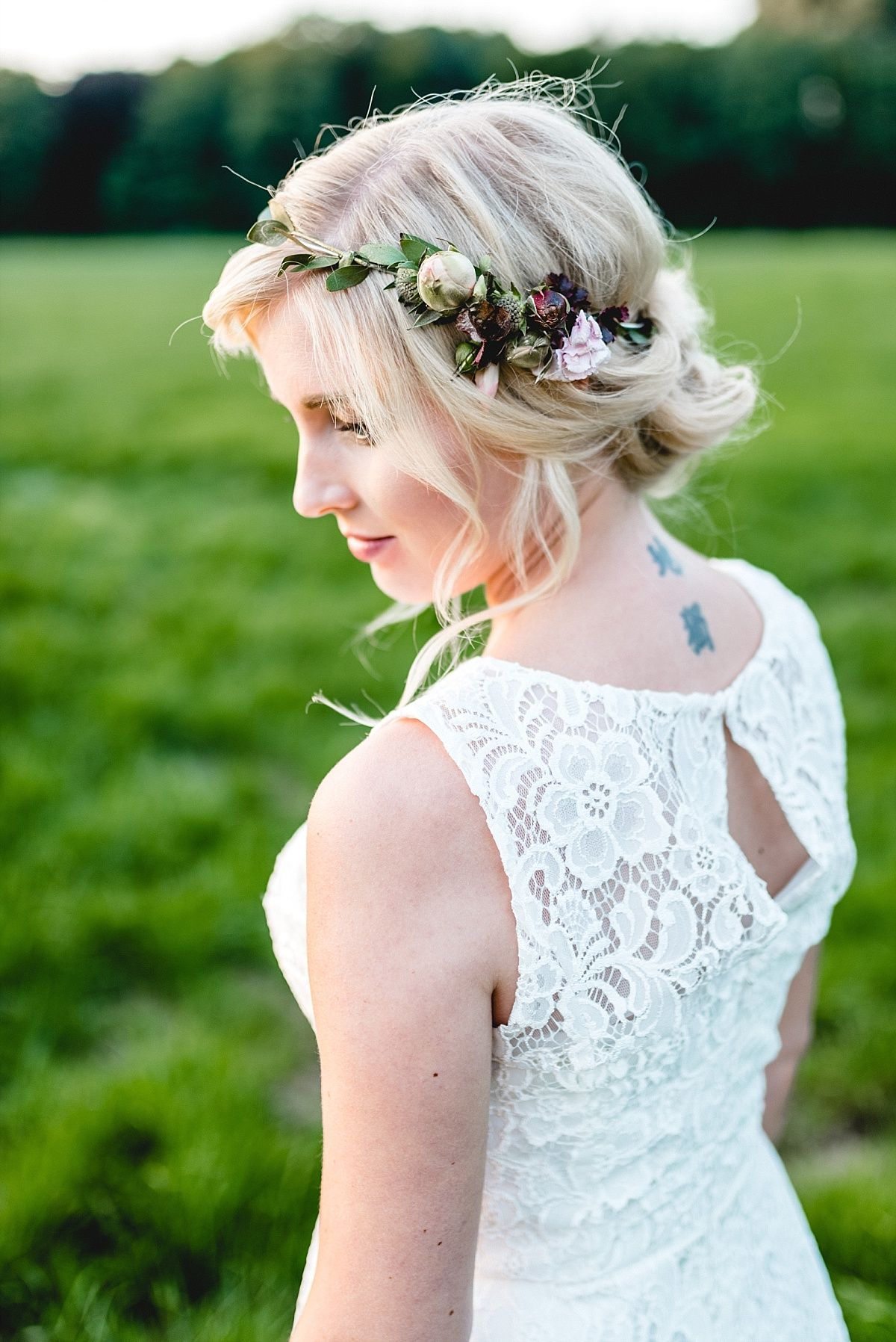 Naturlich Heiraten Auf Dem Land Brautfrisuren Und Haare Fur