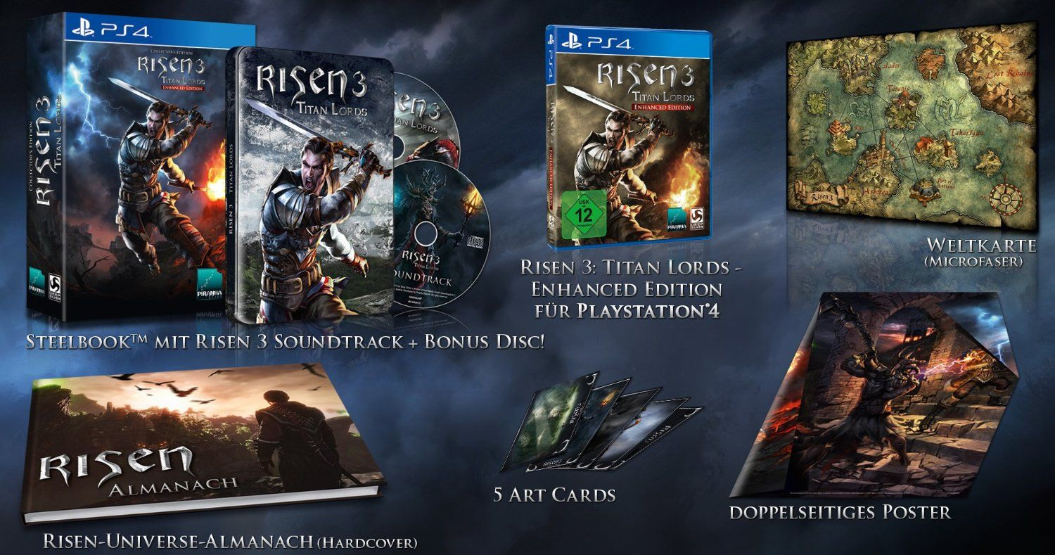 Risen 3 Enhanced Edition - Collector's Edition (exkl. bei Amazon.de): Playstation 4: Amazon.de: Games