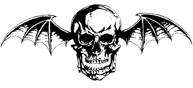 Avenged Seven Fold Death Bat Vinyl Decal Sticker Rock Metal Band Music Skull