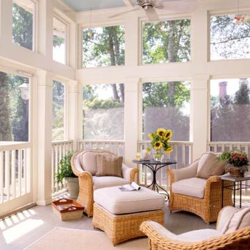 Give Neutral a Kick-nice size enclosed porch.
