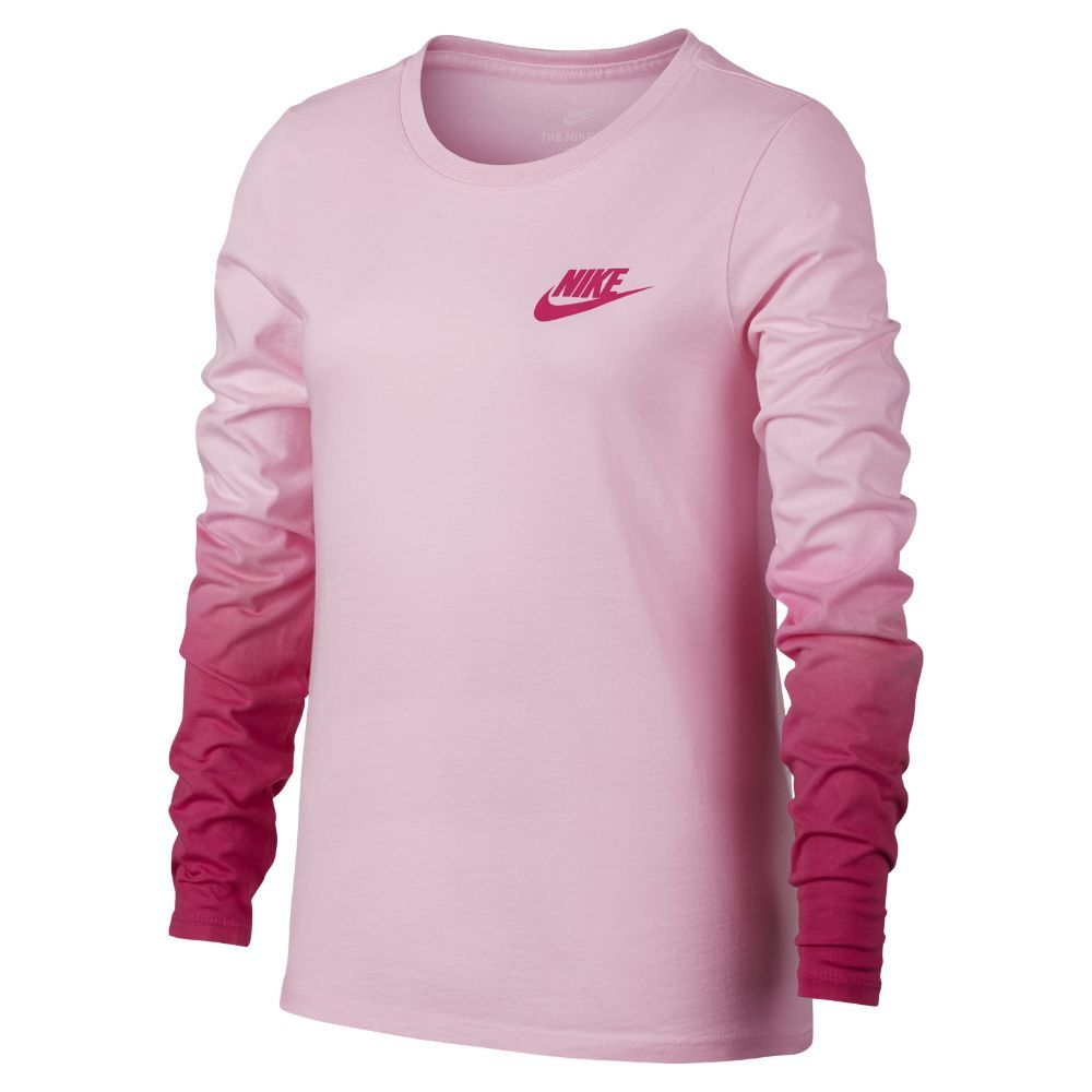 1ee7c94a Nike Sportswear Big Kids' (Girls') Long Sleeve Shirt Size | Products ...