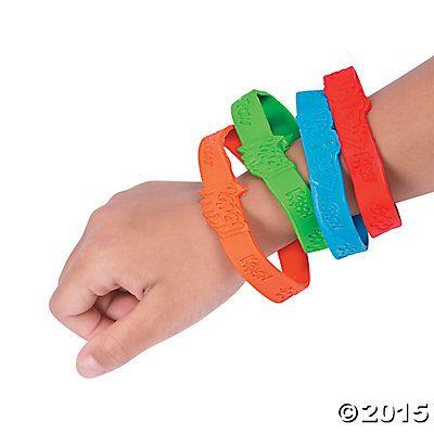 Superhero Sayings Bracelets - Oriental Trading