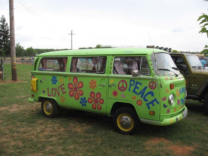 paint it like a hippie van vans vw and volkswagen bus. Black Bedroom Furniture Sets. Home Design Ideas