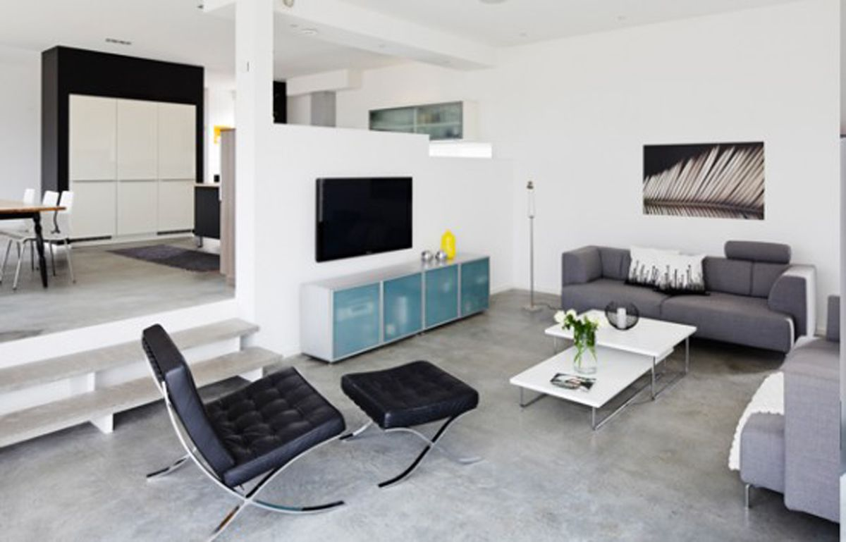Entrancing studio apartments interior spaces comely for Modern living room apartment