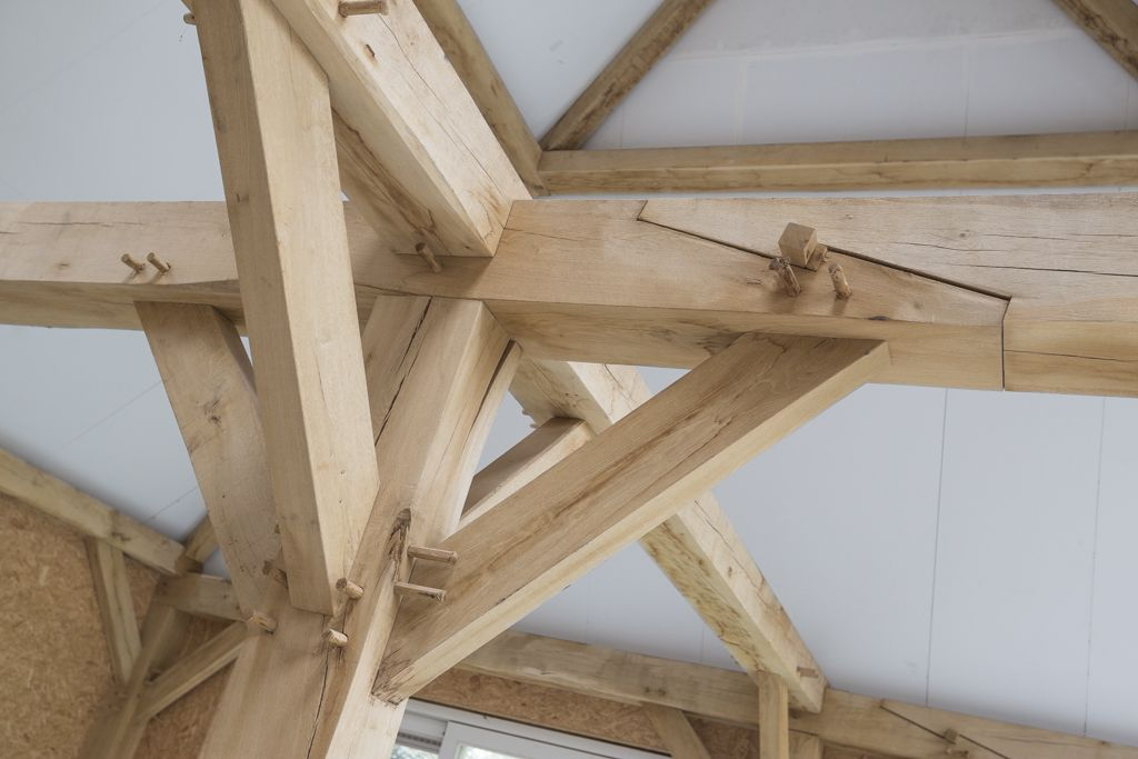 Metalen Houtverbindingen Eiken Gebinten | Robuusteiken - Wood Joints, Wood