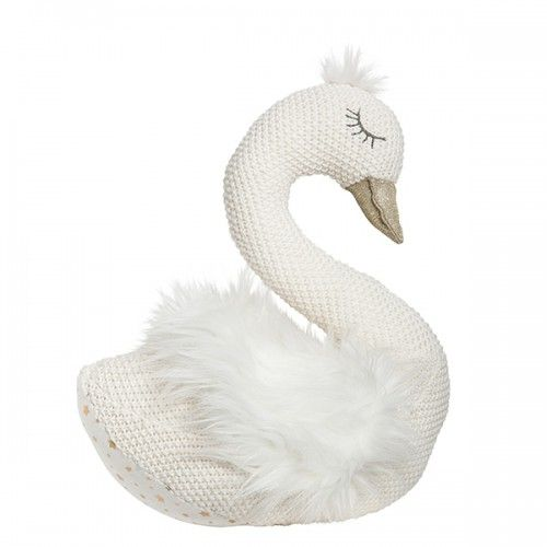 Sylvie The Swan Toy by Lily & George available on Zest Products