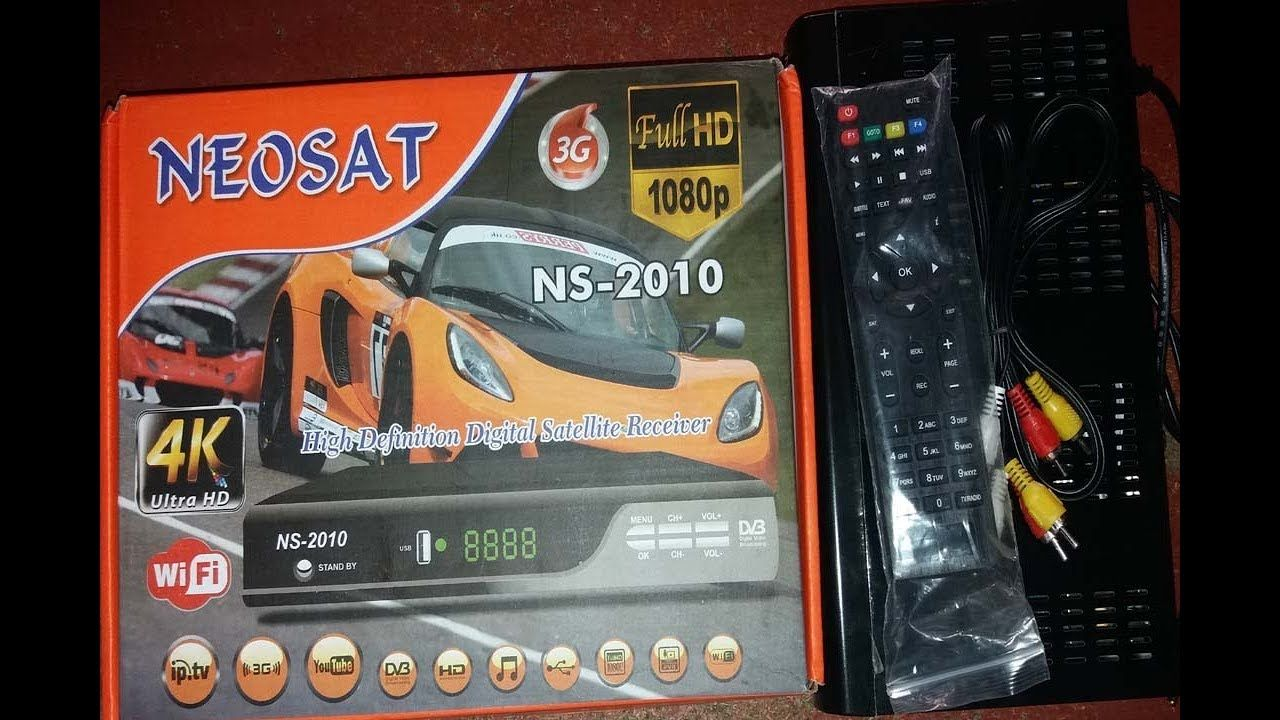 NEOSAT NS 2010 hd Digital Satellite Receiver Review 2018 | How To