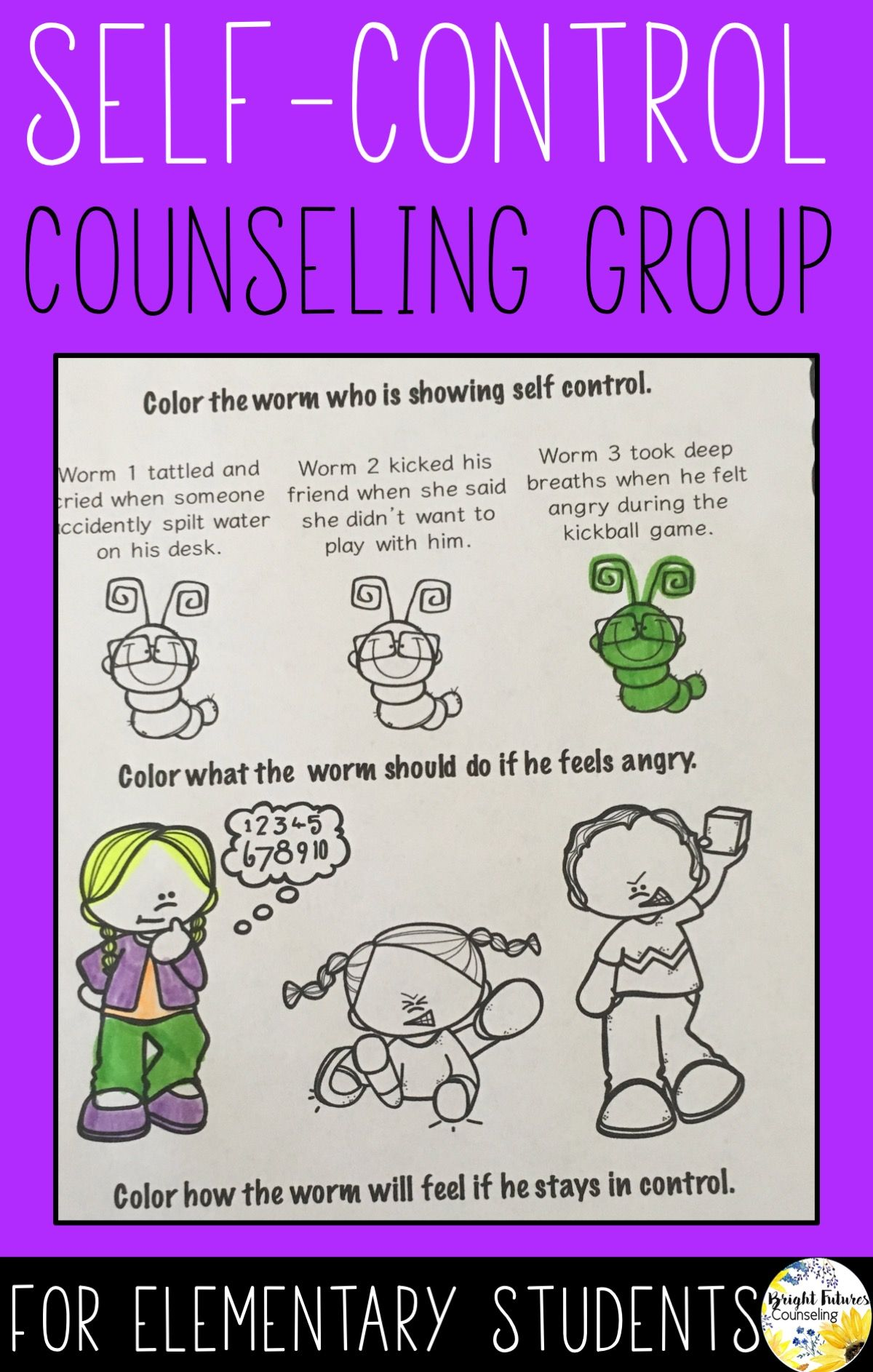 It is a picture of Intrepid Elementary School Counseling Activities