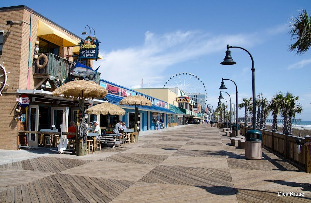 Myrtle Beach South Carolina Boardwalk