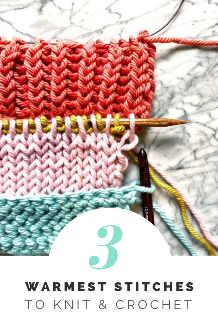 Warmest Knitting Crochet Stitches For Winter Knitting And