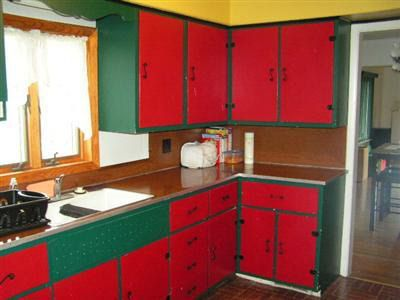 Painted Kitchen Cabinets Two Colors