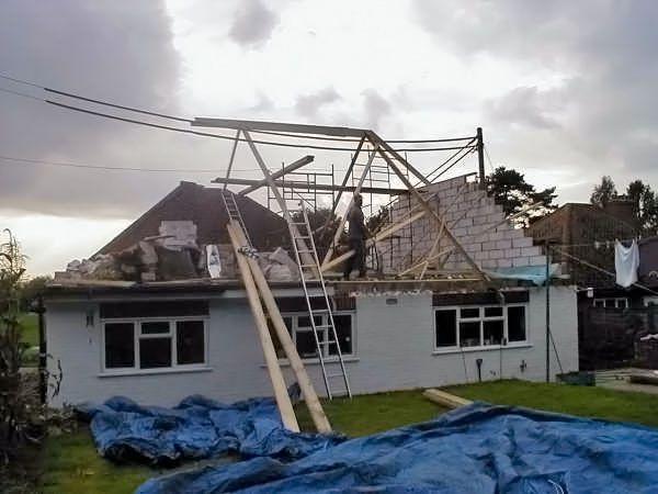Uckfield Bungalow Loft Conversion Project Neil Raymond