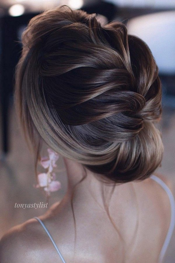 15 Stunning Low Bun Updo Wedding Hairstyles From Tonyastylist Emmalovesweddings Hair Styles Bridal Hair Updo Pinterest Hair
