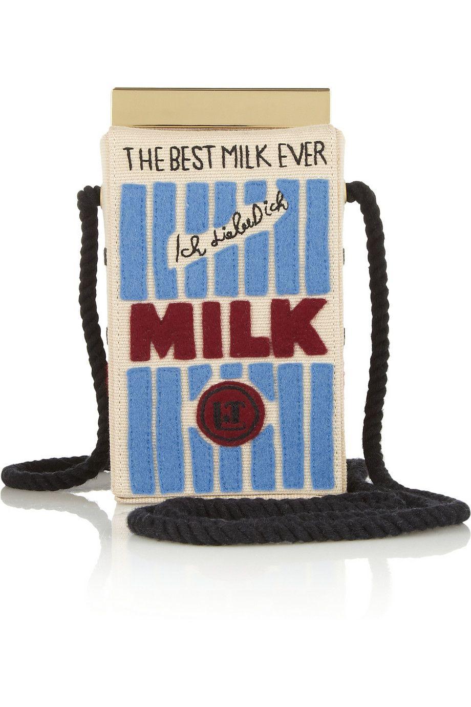 Just For Fun Olympia Le Tan Milk Bag