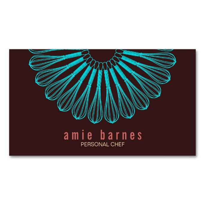 Culinary Chef Blue Whisk Logo Brown Business Card. This is a fully customizable business card and available on several paper types for your needs. You can upload your own image or use the image as is. Just click this template to get started!