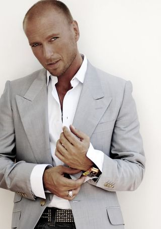Luke Goss from death race 2 not a bad film :)