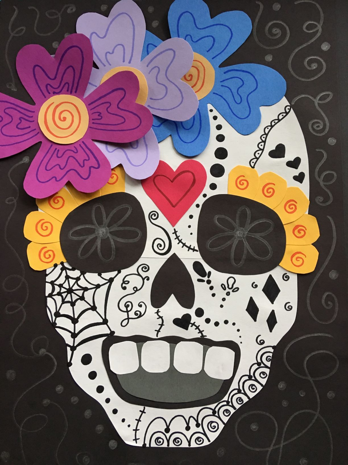Day Of The Dead Paper Sugar Skull Project