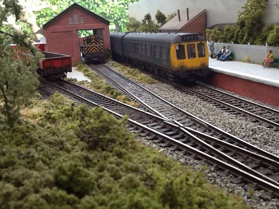 Oo Gauge Model Railway Sectional Stanton Halt A Great Starting Point For Anyone Wanting To Run A Model Model Railway Model Train Scenery Model Train Layouts