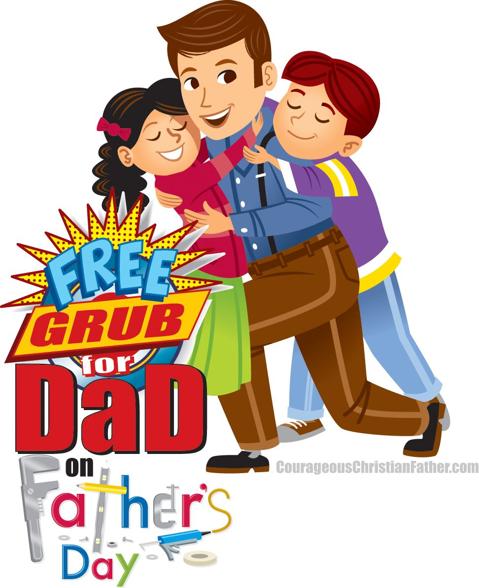 Free Grub For Dad on Father's Day (Free Food for Dad on Father's Day) #FathersDay