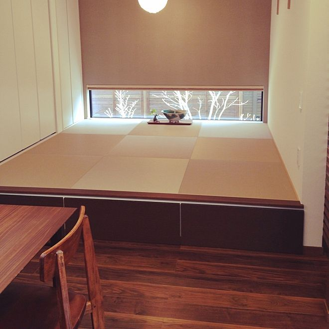 Photo of リビング/和室/畳スペース/小上がり/小上がり畳スペースのインテリア実例 – 2017-03-25 15:29:55   RoomClip(ルームクリップ)