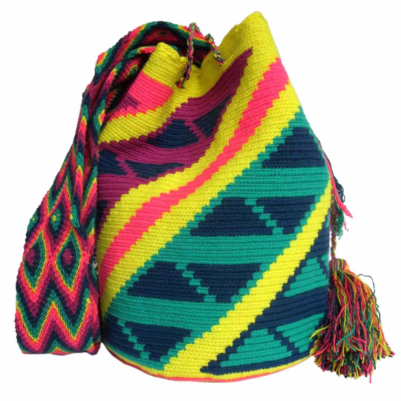 Lagarto Mochila Wayuu Bag | Handmade and Fair Trade Wayuu Mochila ...
