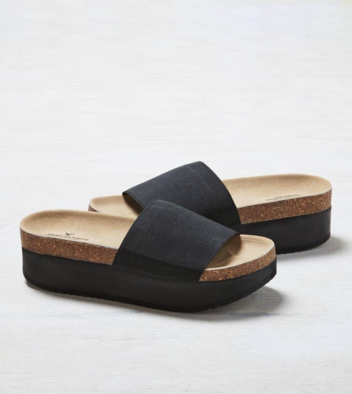 Aeo Platform Slide Sandal Shoes Sandals Shoes Slide