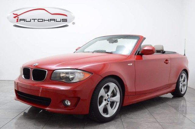 Pre-Owned 2012 BMW 1 Series 128i Convertible With Navigation ...