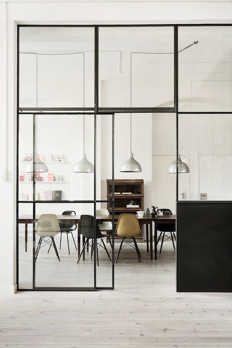 Hausdesign mit zwei schlafzimmern micro design trend factory windows  kitchen  dining  pinterest