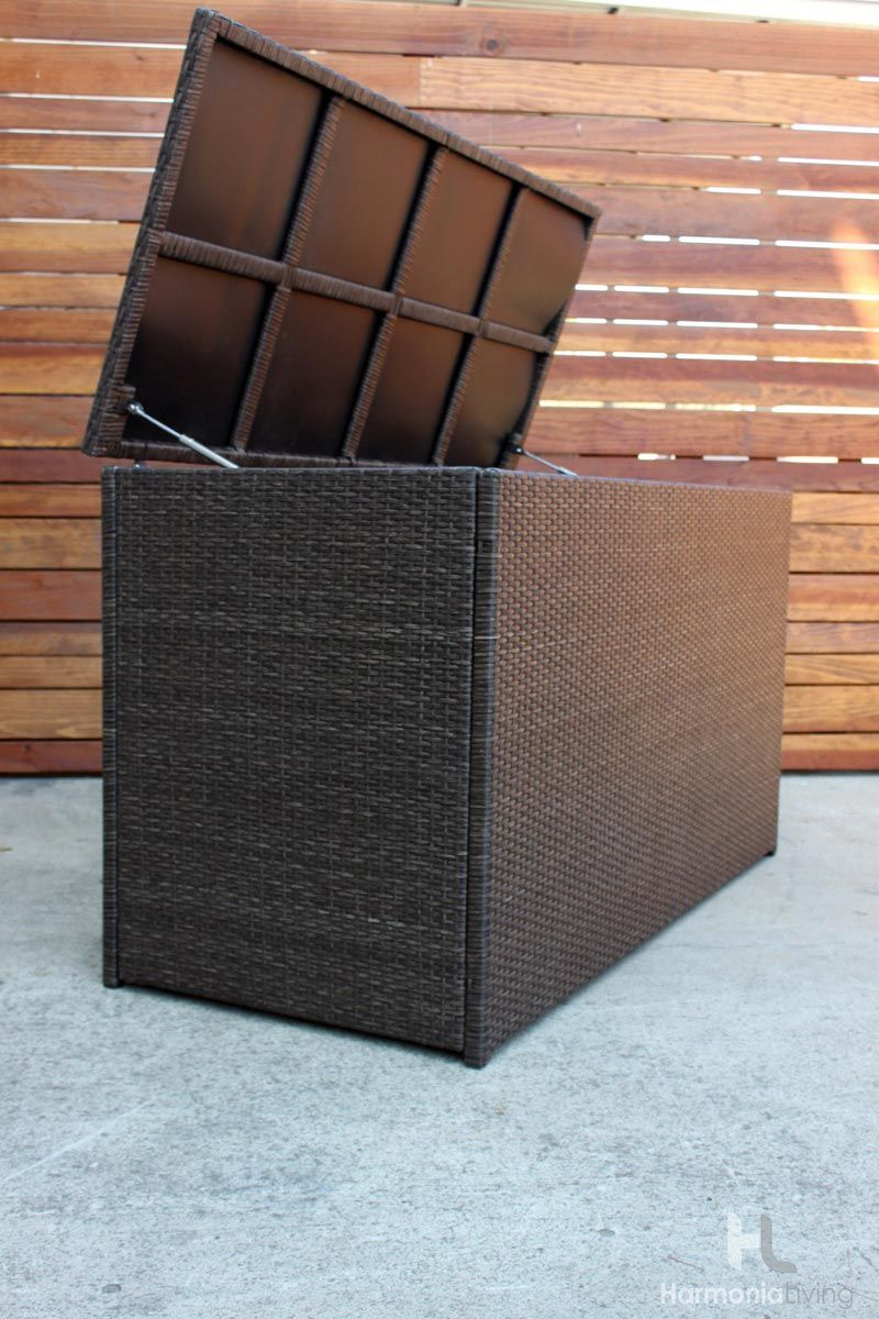 Arden Cushion Storage Box Hl Ard Ch Csb Outdoor Cushions And Pillows Cheap Patio Sets Outdoor Wicker