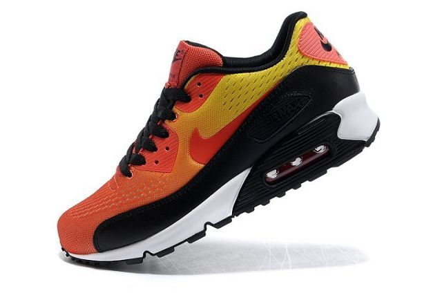 Air Max 90 Premium EM orange black men