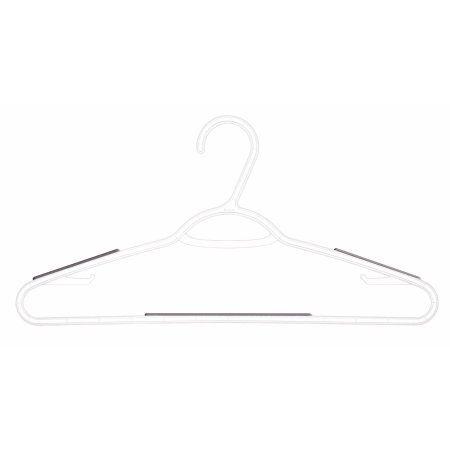 10PK Nonslip Plastic Hangers