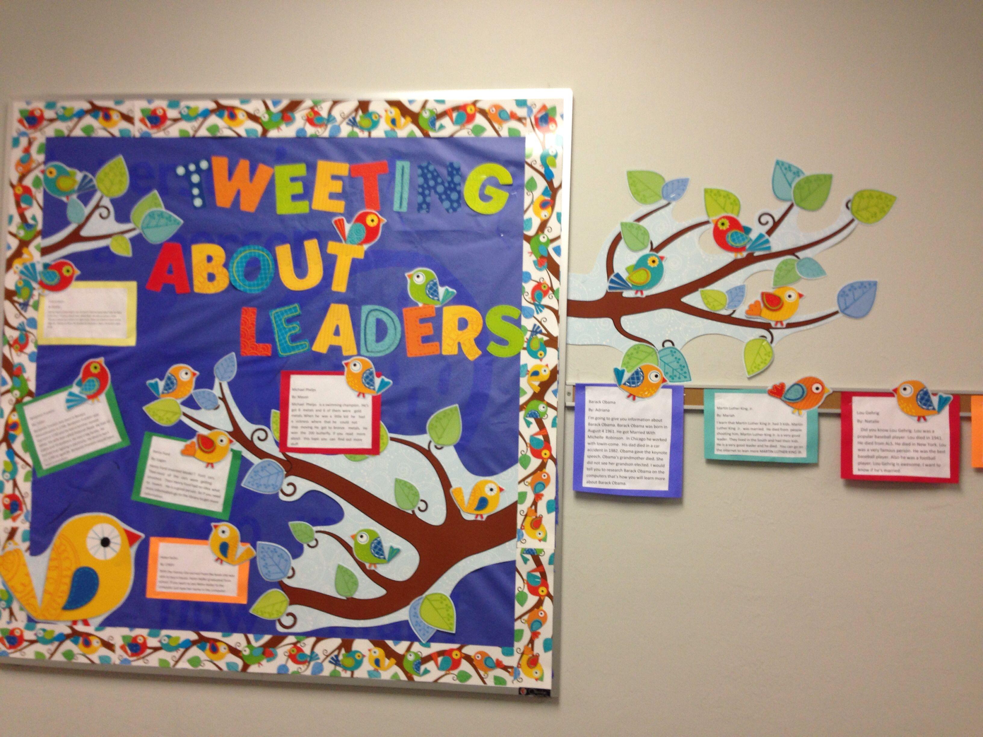 Leadership Bulletin Board Ideas