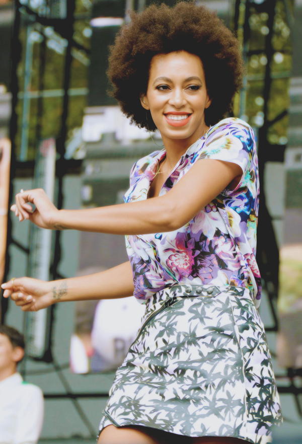 Solange performing at the 2013 Budweiser Made In America Fesitval - Day 2