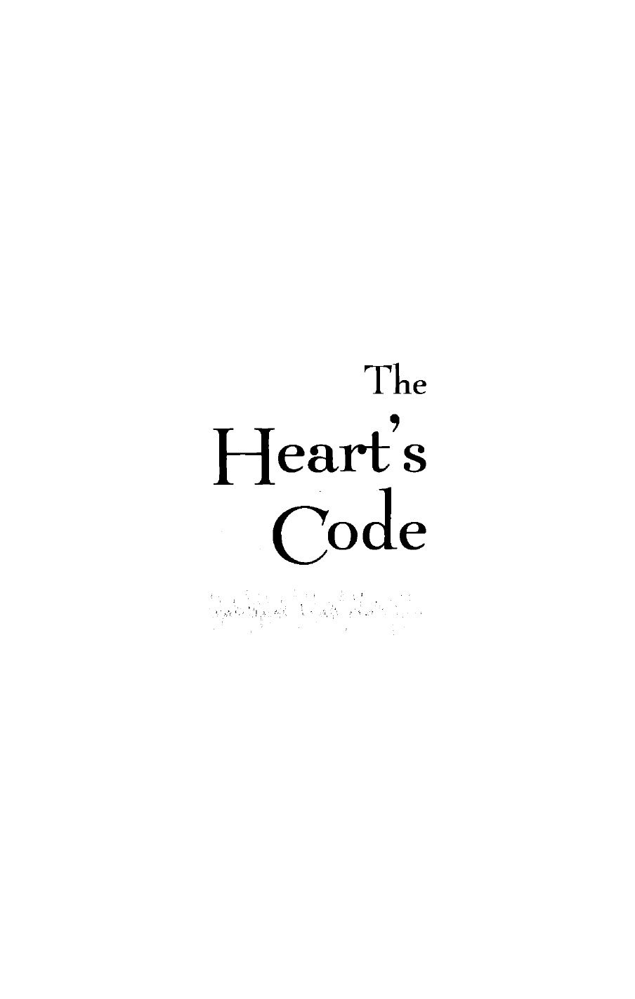 Paul paarsall the hearts codepdf books worth reading paul paarsall the hearts code fandeluxe Choice Image