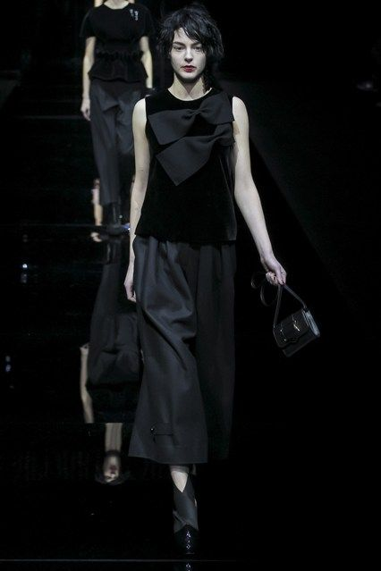Milan Fashion Week, Emporio Armani Otoño Invierno 2015