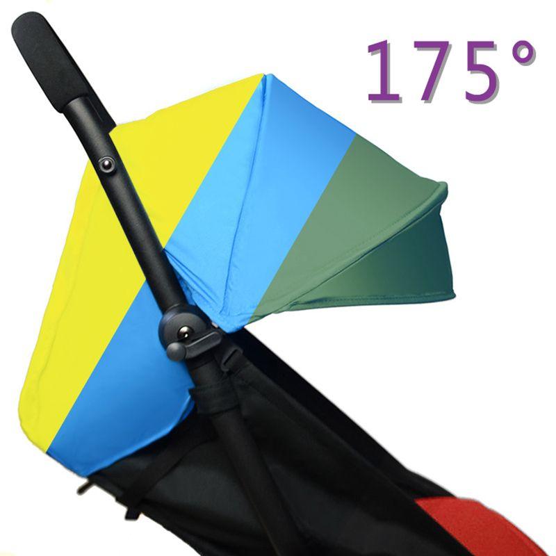 175 Grados Accesorios Cochecito Parasol Cubierta de Asiento para el Bebé Lactante Yoya Trono Tiempo Pram Cojín Cojín Toldo Buggie