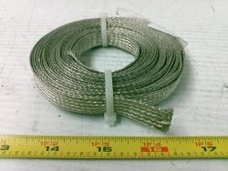 25347 1 2 Inch X 15 Ft Braided Copper Wire Tinned For Sale At Bmisurplus Com Copper Wire Equipment For Sale Wire