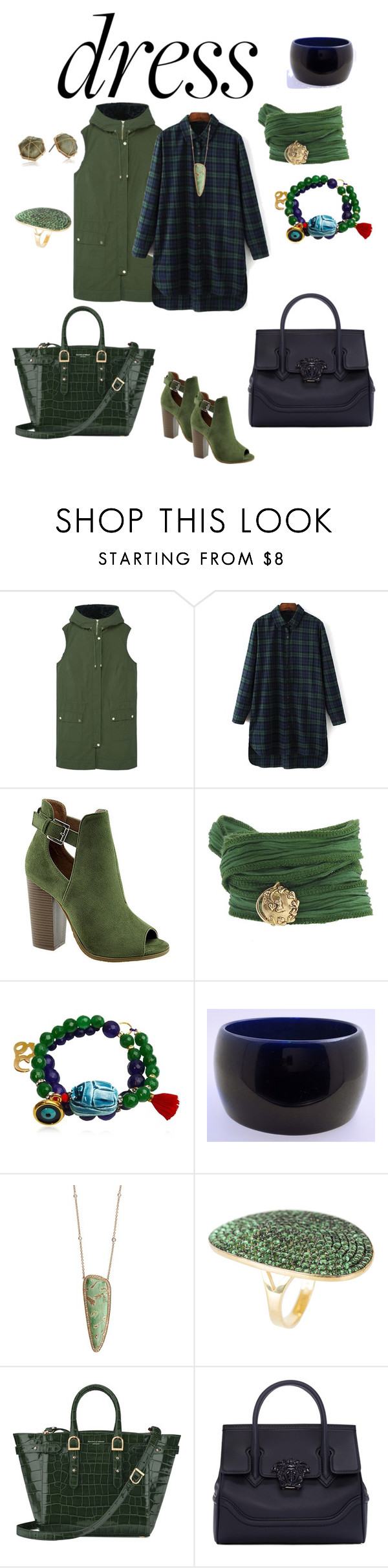 """""""LongSleeveDressContest"""" by miashelton1326 on Polyvore featuring MANGO, Bella Marie, Catherine Michiels, Katerina Psoma, Jacquie Aiche, Latelita, Aspinal of London, Versace and Panacea"""