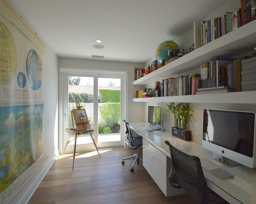 Midcentury Home Office Design Ideas Pictures Remodel And Decor