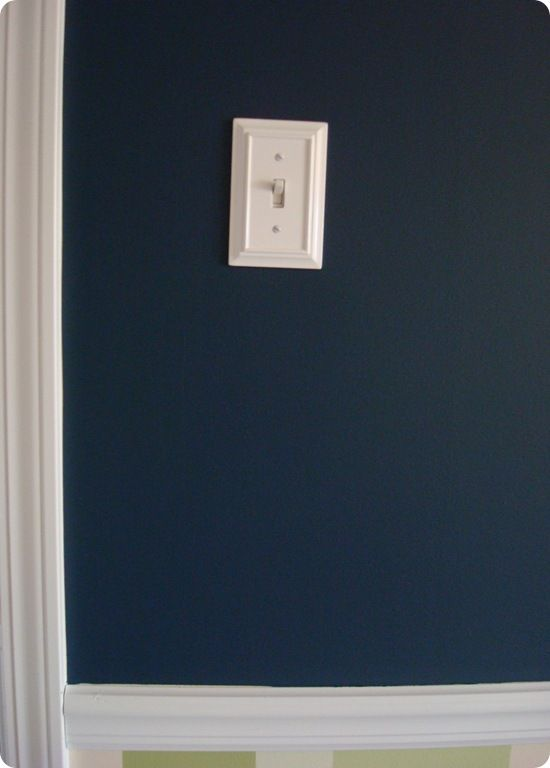 a blue room i did not cry blue rooms dark blue paint on behr premium paint colors id=34315