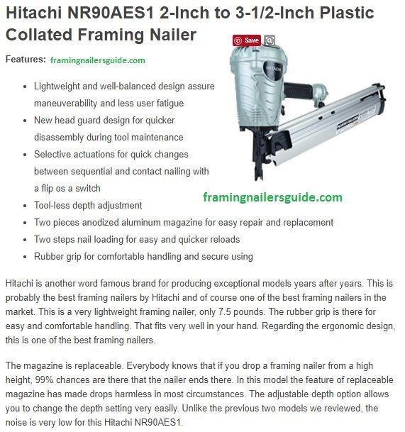 Best framing nailer, framing nailer, framing nailer review, framing ...