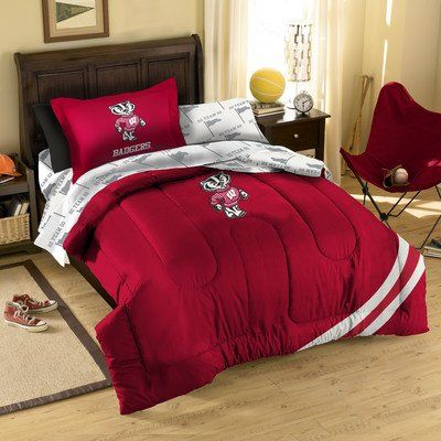 Wisconsin Badgers Bedding Set