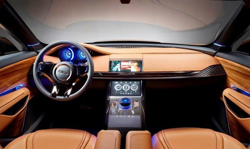 Jaguar Xq Type Preview C Suv Interior Custom Wood Grain