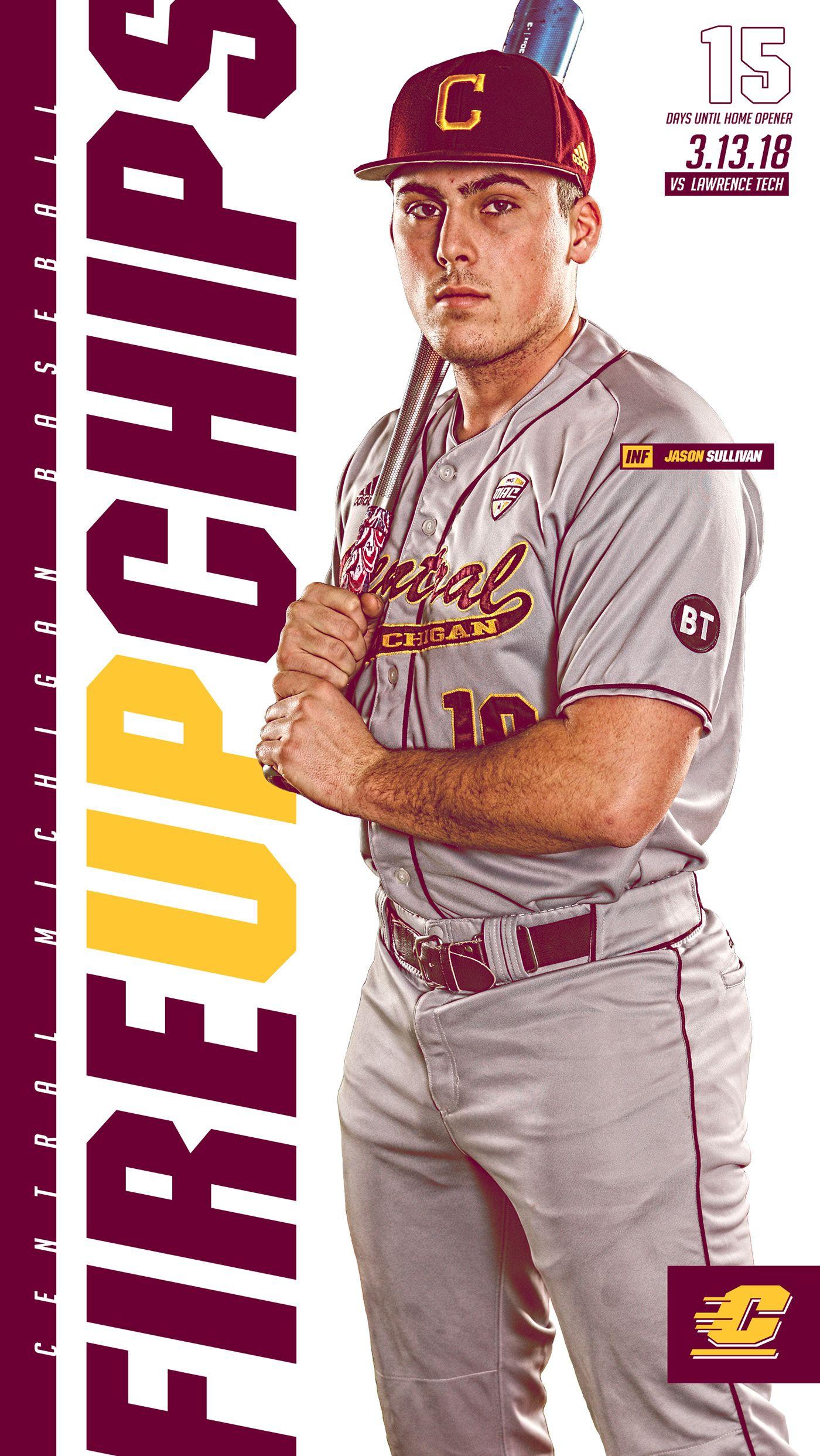 Sports Photography At Cmu: CMU Baseball And Softball: Mobile Countdown Graphics On