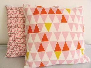 """Scandi linen cushion 14"""""""
