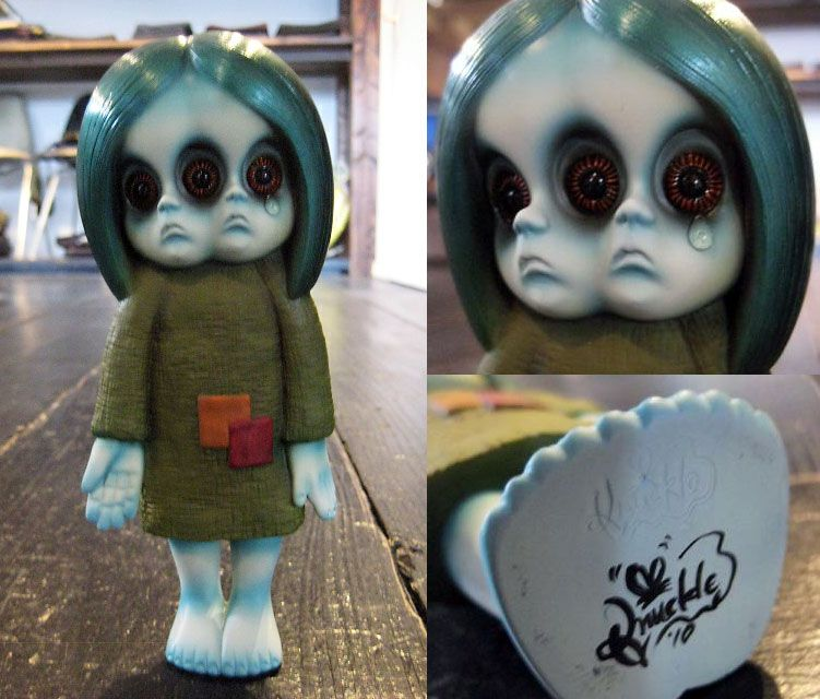 Creepy Japanese Toy : Little miss no name by strumm things i want pinterest