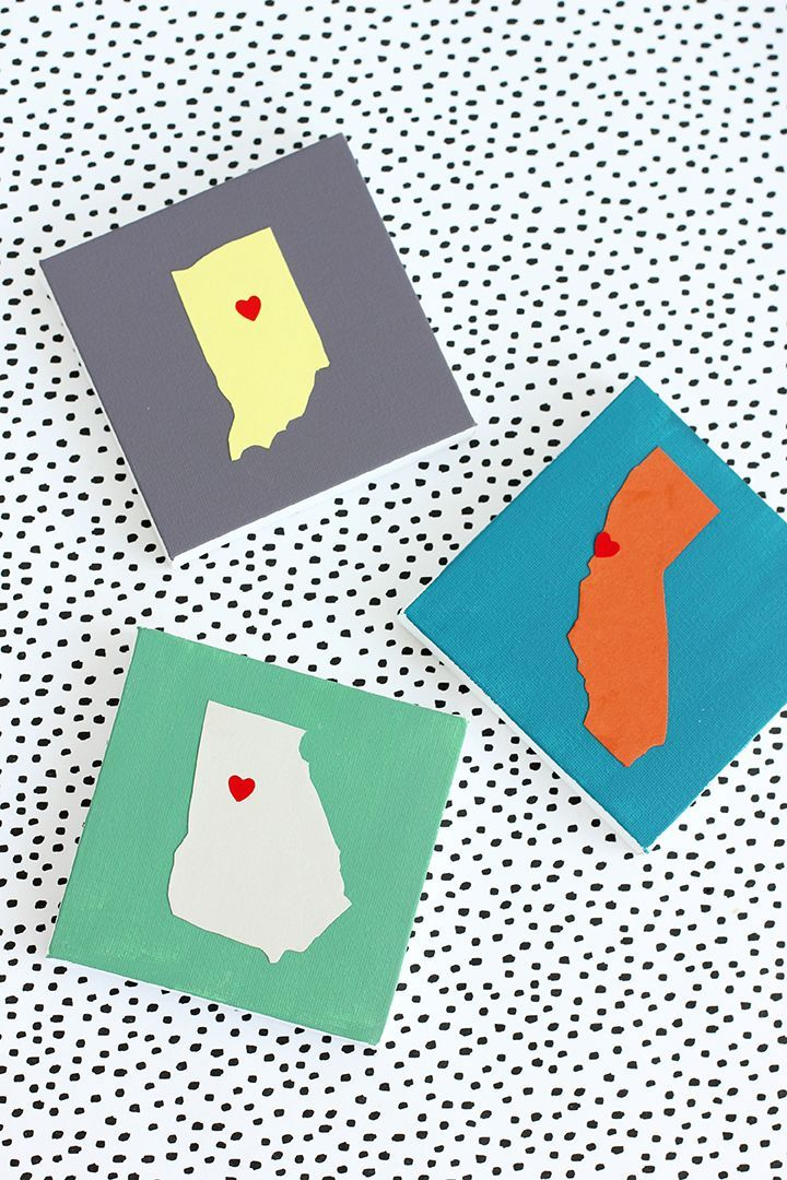 Show your state pride with this DIY State Art