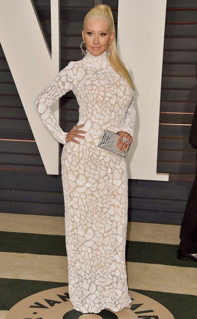 Hot Mama! Christina Aguilera Looks Skinnier Than Ever at Vanity Fair ...