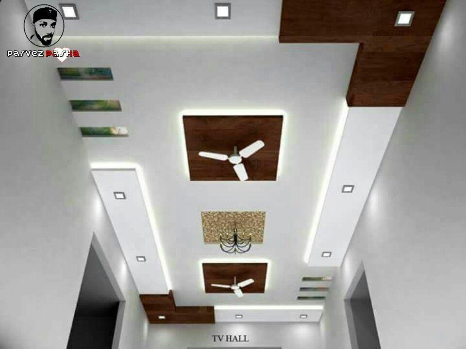 P.O.P Ceiling   Ceiling design modern, Simple false ...