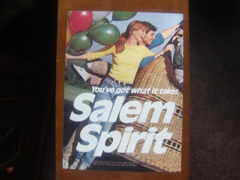 SALEM CIGARETTE VINTAGE AD